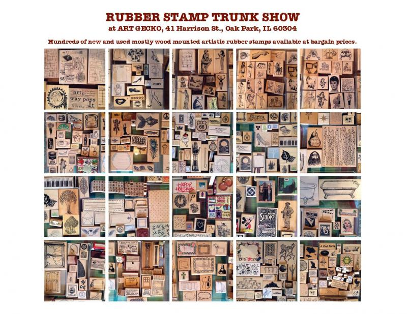 Rubber Stamp Trunk Show